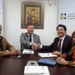 Foto Firma Acuerdo CMS-Granada y FIATC
